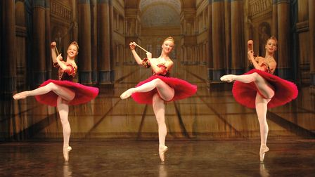 The Vienna Festival Ballet brings The Nutcracker to The Alban Arena in St Albans [Picture courtesy o