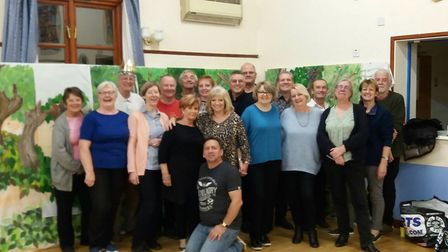 The Melbourn Amateur Dramatics Society at a Sleeping Beauty rehearsal in Meldreth Village Hall. Pict