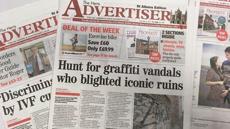 How do you get your news from the Herts Ad?