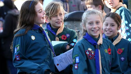 St Albans Remembrance Sunday Service. Picture: Holly Cant