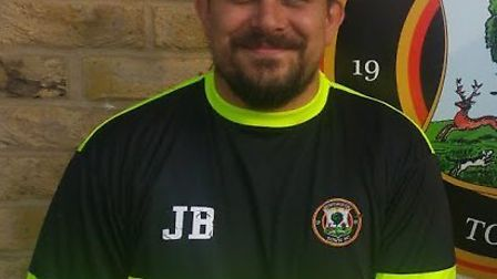Huntingdon Town manager Jimmy Brattan. Picture: HUNTINGDON TOWN FC