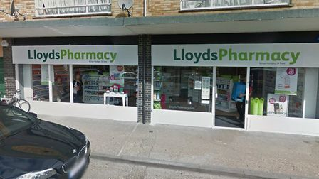 Lloyds Pharmacy, in St Ives. Picture: GOOGLE