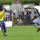 St Albans City took on Welling United at Clarence Park in Vanarama National League South. Picture: B