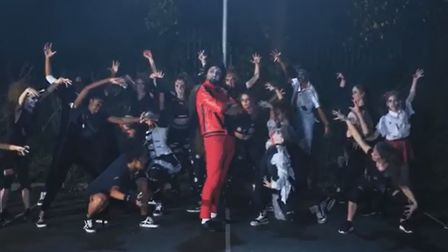 NSG Performing Arts in the Singing Dentist's new parody of Michael Jackson