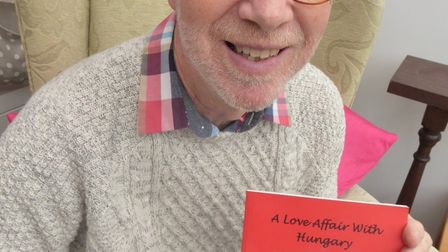 David Brown has launched his new book: A Love Affair with Hungary.