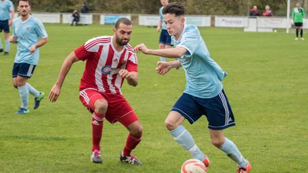 Matty Allan has scored three times in the last two Godmanchester Rovers games. Picture: J BIGGS PHOT