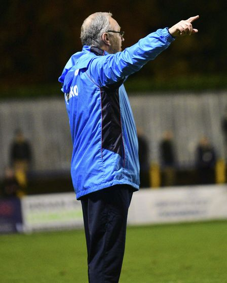 St Albans City manager Ian Allinson. Picture: BOB WALKLEY