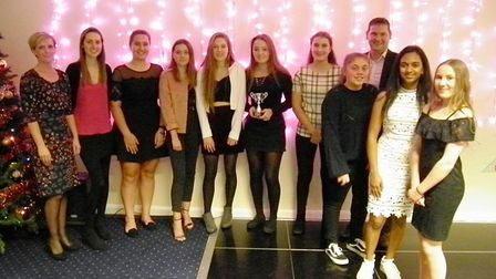 The Hunts Under 15 Girls team who were undefeated in 2017. Picture: JEZ HALL