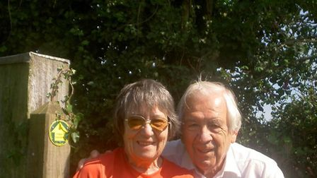 Edna and Peter, in their 80s, living in Devon. Picture: Courtesy of E.W Peters