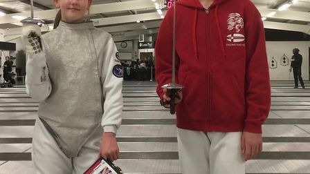Nathalie, 11, and Alex Culkin, 13, have both been selected for the England foil fencing squad.