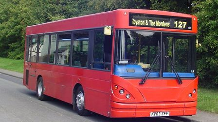 A2B Bus and Coach Ltd, which operates the 127/128 routes, have had to remove a Bassingbourn junction