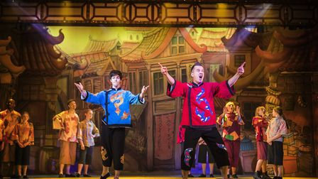 The Alban Arena's production of Aladdin.