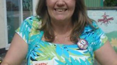 Retiring Bumpkins nursery manager Nessa Taylor. Picture: Courtesy of Cath Boughton