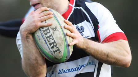 Ollie Mann bagged one try and kicked nine more points as Harpenden beat Hemel Hempstead. Picture: KA