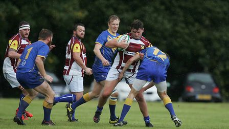 Verulamians got the better of St Albans for the second time this season. Picture: KARYN HADDON