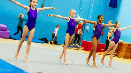 The new gymnastics and trampolining classes will begin on Saturday, January 6. Photo: Marcel G Photo