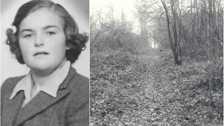 Anne Noblett's body was found in woodland near Whitwell. Picture: Herts Police