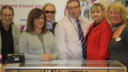 Rennie Grove Hospice's new charity shop in London Colney.