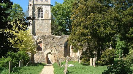 The Old Church, Ayot St Lawrence