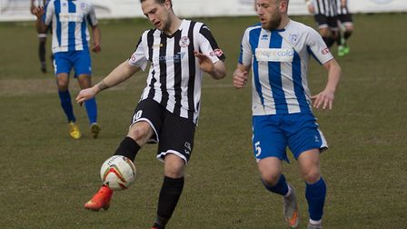 Striker Danny Watson is back at St Ives Town. Picture: LOUISE THOMPSON