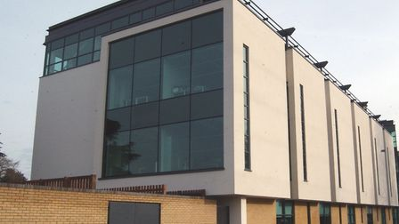 HOUSING: Huntingdonshire District Council's Pathfinder House hadquarters