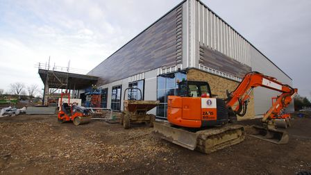 STORE: Morrisons' new supermarket in St Ives is nearing completion