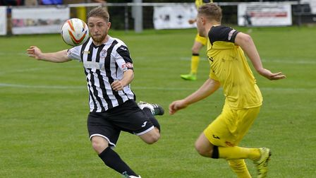 Ben Seymour-Shove is one of the St Ives Town men to move on. Picture: DUNCAN LAMONT
