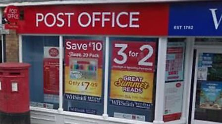 Earlier this week queues were almost out the door at Royston High Street post office, which is situa