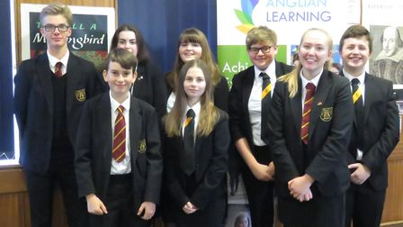 BVC students took part in a public speaking and debating workshop. Picture: BVC