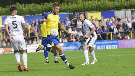 David Noble is now a player-coach at St Albans City. Picture: BOB WALKLEY
