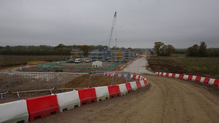 The A14 Huntingdon to Cambridge improvement scheme is marking a year since work began. Picture: ARCH