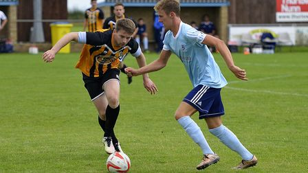 Jack Chandler sealed victory for Godmanchester Rovers with a great strike.