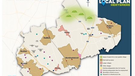 Hertsmere Borough Council is winding up the consultation on the new London Colney Garden Village thi