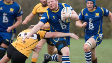 Paul Ashbridge starred as St Ives triumphed at Leicester Vipers. Picture: PAUL COX