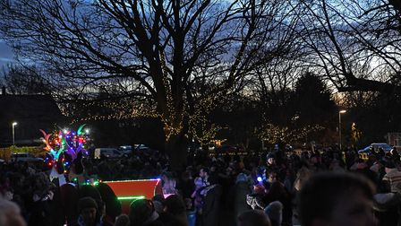 The Christmas lights switch-on event in Brampton. Picture: ARCHANT