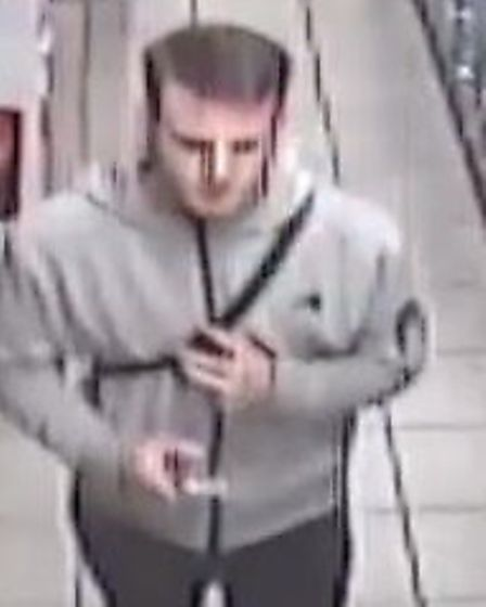Police would like to speak to this man pictured as he may have information about the theft that coul