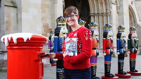 The launch of the St Albans BID nutcracker trail at St Albans Abbey. Picture: Danny Loo