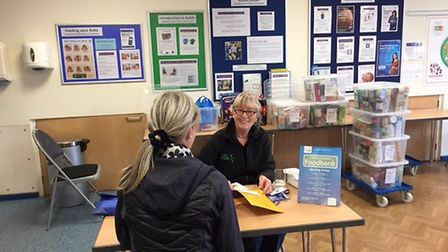 St Albans and District foodbank. Photo: Hertfordshire Community Foundation