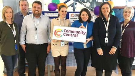 A photo of the Community Central team.