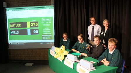 Freman College''s annual House University Challenge saw Butler House triumph for the second year run