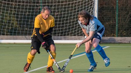 Action from St Neots Men's 3rds victory against Horncastle 2nds. Picture: J BIGGS PHOTOGRAPHY