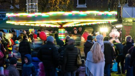 Harpenden Christmas lights switch-on. Picture: Harpenden Photographic Society