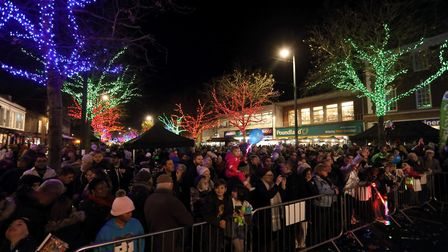 St Albans was transformed into a winter wonderland last weekend. Picture: Spike Brown