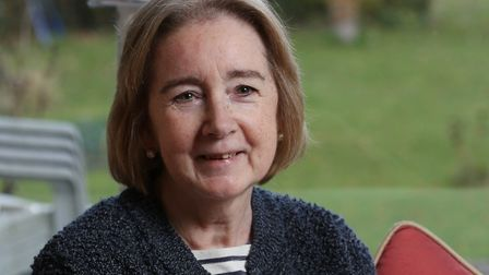 Gaye Christy has now been receiving nivolumab since July which has given her her life back. Picture: