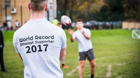 World record attempt. Picture: Michael S Feather