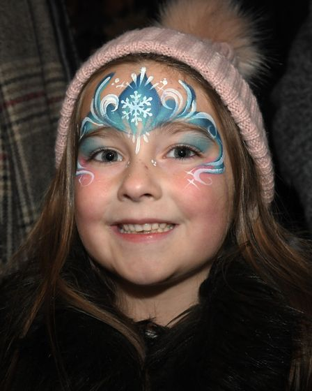 The Christmas light switch-on in Huntingdon. Picture: ARCHANT