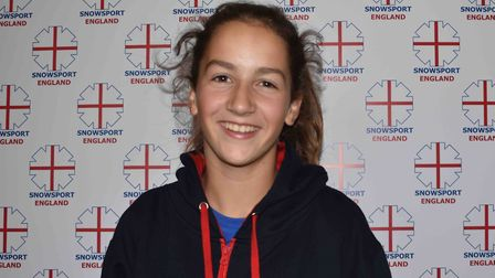 St Albans' Nia Boty has been selected for the England U16 ski team.