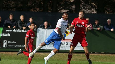 New St Neots Town signing Nabil Shariff. Picture: ALISON BAGLEY