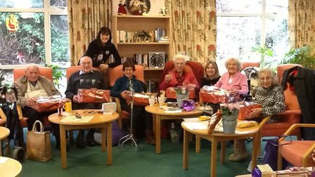 Mandy Jinkerson visited the Age UK 10-3 club in Royston. Picture: Mandy Jinkerson