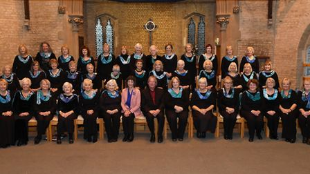 Hemingford Ladies Choir performed Songs for the Season at St Ives Free Church. Picture: ARCHANT.